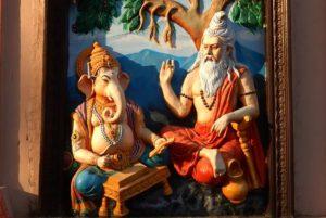 Vyasa and Ganesha