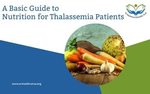 Thalassemia nutrition